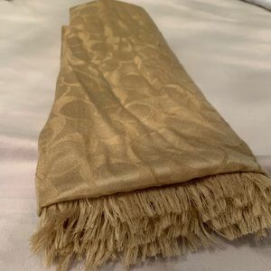 Gold Coach Scarf in great condition